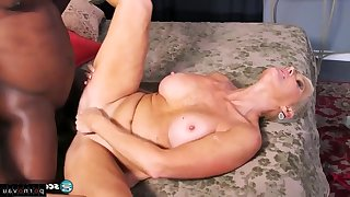 Big-Titted mommy - granny fuck BBC