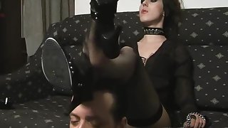 Mistress Bojana - Dirty Wings Licking