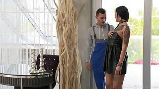 Brunette vixen Adel Asanty craves double penetration relevance