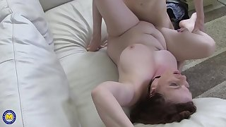 Mature Housewife Soft-soap Young Guy