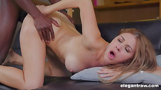 Nothing can please horny and sexy Paulina Soul like hard black penis