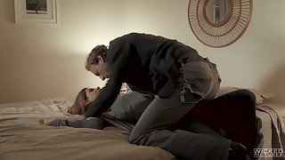 Sexually compulsive milf India Summer is cheating on her husband with curly varlet