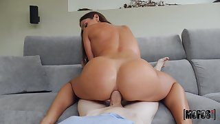 Crazy anal beside the step mom