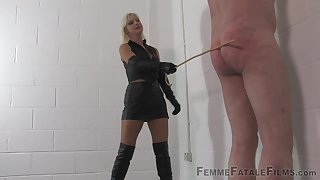 Mistress Vixen wants to punish her handsome beau with BDSM mating game